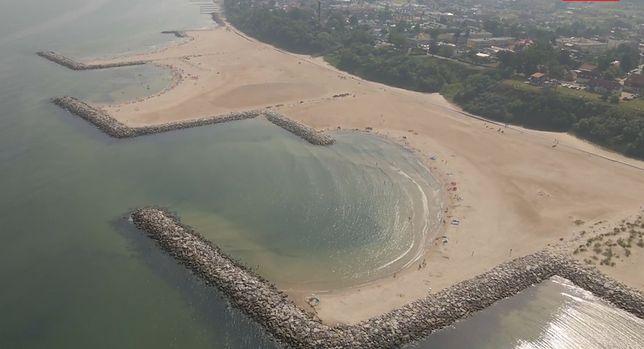 Plaża w Jarosławcu