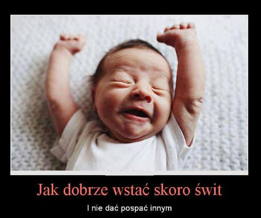 Brak snu przy dziecku