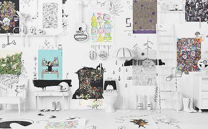 Limitowana kolekcja plakatów w Ikea. Polka wśród 12 wybranych artystów