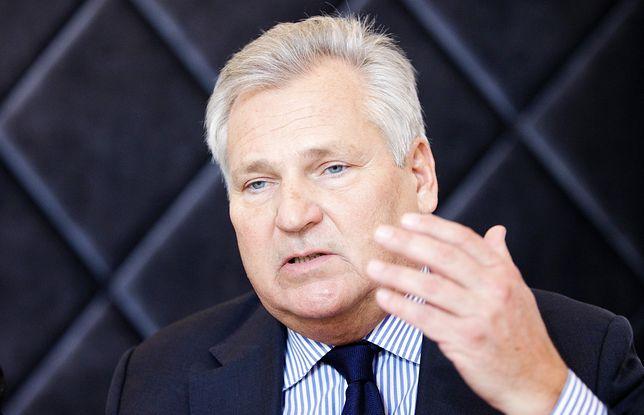 Aleksander Kwaśniewski miesza z błotem propozycje Dudy