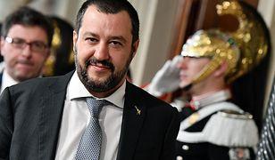 Matteo Salvini, lider nacjonalistycznej Ligi i nowy minister spraw wewnętrznych