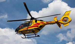 Chełmno. 3-latek wypadł z okna na drugim piętrze. Dziecko zostało przetransportowane do szpitala śmigłowcem (zdjęcie ilustracyjne)