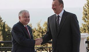 Lech Kaczyński wyróżniony doktoratem w Baku