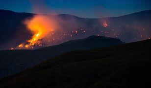 Wulkan Ognia wystrzelił lawą na 400 m w górę