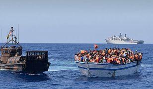 W pobliżu Libii zatonął ponton. W środku było 126 migrantów