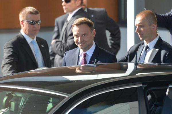 Duda: w Berlinie rozmowy o Ukrainie i bazach NATO