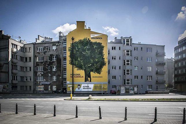 Wybory prezydenckie 2020. W Warszawie powstał ekologiczny mural