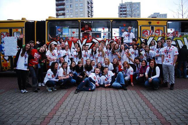 Impreza w Ikarusie na ulicach Warszawy