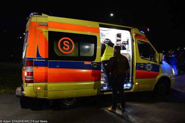 Tragiczny wypadek w Dąbrowie Górniczej. Nie żyje kobieta