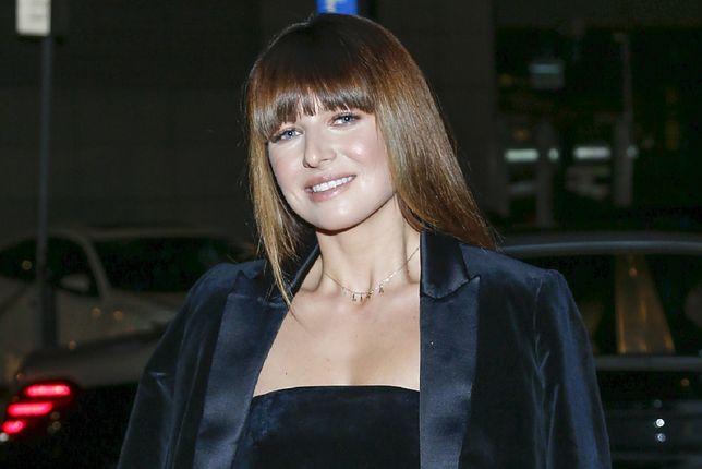 Ania Lewandowska pozuje z Pauliną Krupińską