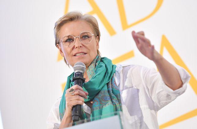 Paulina Młynarska protestuje przeciwko przemocowym zachowaniom znanych aktorów.