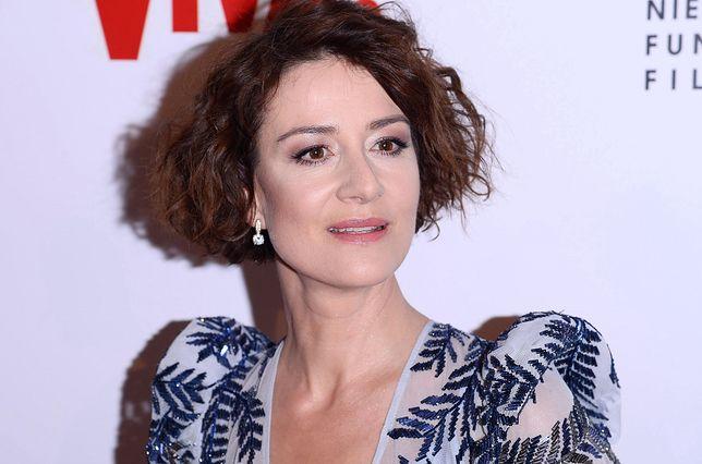 Maja Ostaszewska zadała szyku na festiwalu w Wenecji.