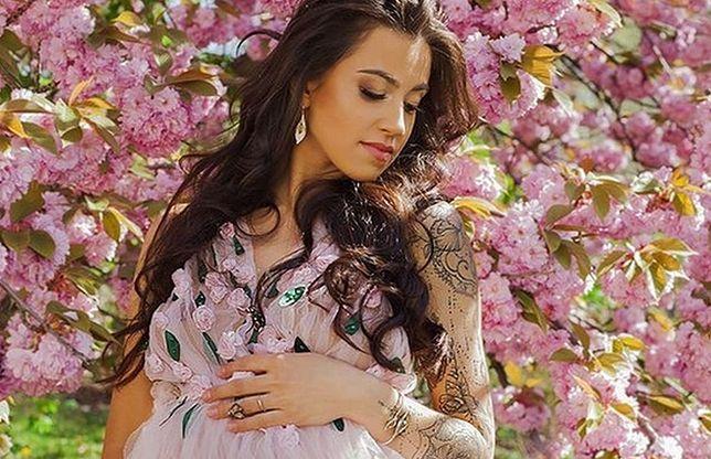 Maja Hyży w zaawansowanej ciąży
