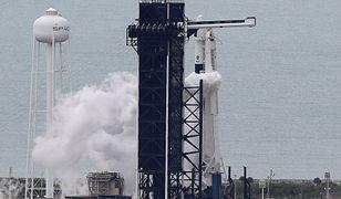 Stalowy smok przegrał z pogodą - NASA i SpaceX musiały odwołać lot