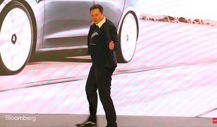 Elon Musk tańczył na otwarciu Gigafactory Tesli w Szanghaju.
