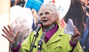 Vivienne Westwood wściekła na polski rząd