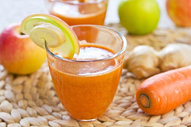 Zdrowotne właściwości soku z marchwi i imbiru