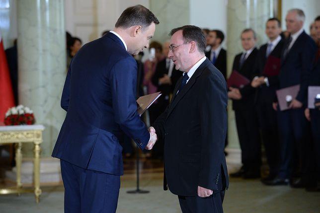 Sąd Najwyższy: Andrzej Duda nie mógł ułaskawić Mariusza Kamińskiego