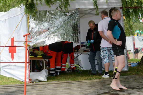 Reanimacja ciężko rannego Estończyka