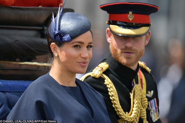 Meghan Markle wyszła za księcia Harry'ego w maju 2018 r.