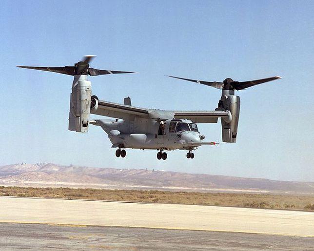 Helikopter i samolot w jednym