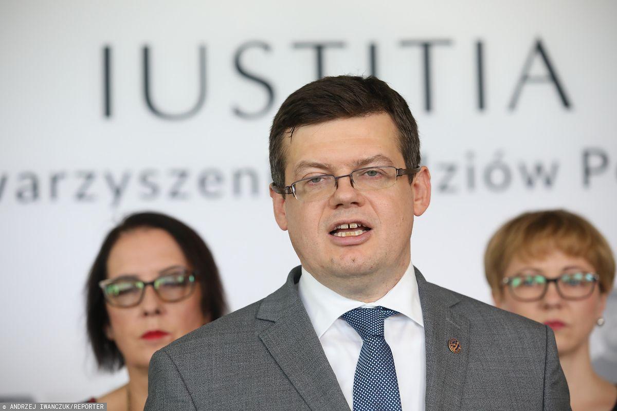 """Krystian Markiewicz z """"Iustitii"""" apeluje do sędziów. """"Dobro obywateli najważniejsze"""""""