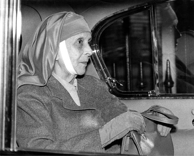 Alicja Battenberg, teściowa królowej Elżbiety, w 1960 roku