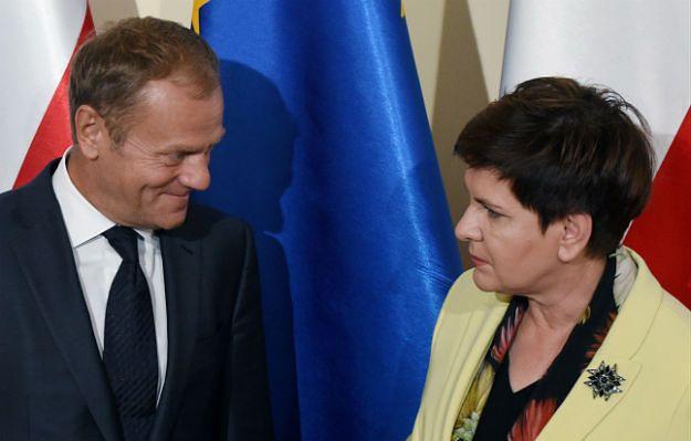 """Donald Tusk spotkał się z premier Beatą Szydło. """"Najważniejsze, by Polska nie dołączyła do tych, którzy chcą 'zachwiać europejskim statkiem'"""""""