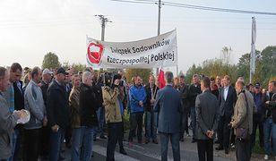 Sadownicy zapowiedzieli protesty w stolicy. Będą utrudnienia