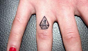 Tatuaż diament - inspiracje