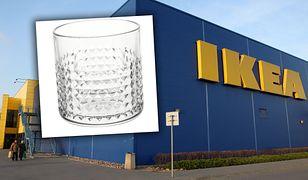 Znikająca szklanka z IKEI w Wiadomościach TVP