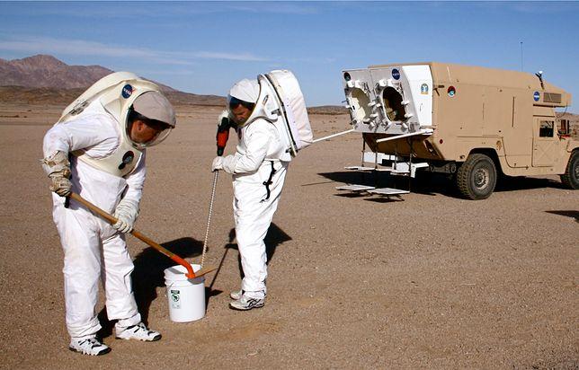 """Na razie trenują """"na sucho"""". Ale misja na Marsa będzie wielkim wyzwaniem."""