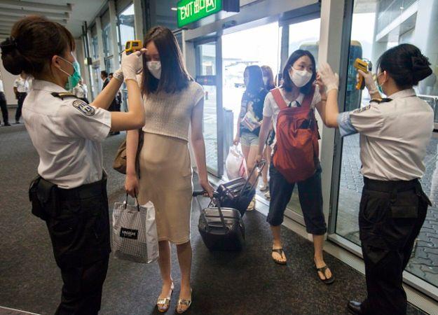 Specjalne środki bezpieczeństwa na lotnisku w Hongkongu