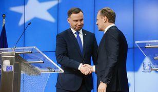 Donald Tusk zapowiedział swój udział w wyborach prezydenckich, jeśli stawi się do nich prezes PiS