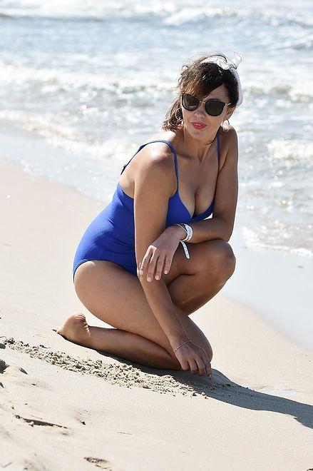Szaleje na plaży