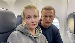 Rosja. Julia Nawalna zatrzymana podczas demonstracji
