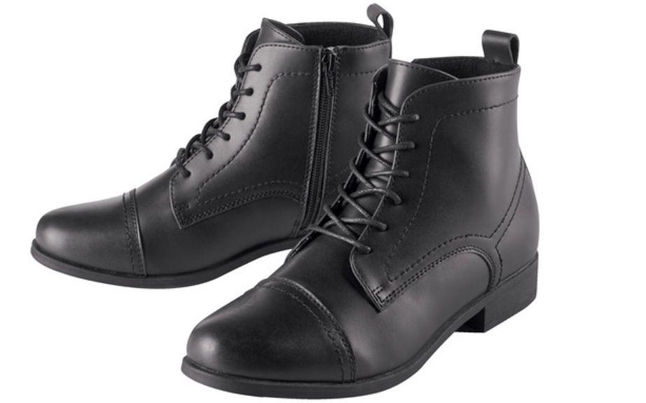 Skórzane buty z Lidla i Biedronki. Modne fasony za mniej niż sto złotych