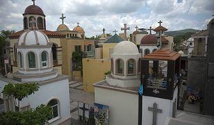 Cmentarz w Culiacan, gdzie jest pochowanych wielu gangsterów
