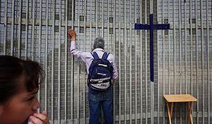 Granica Meksyku i USA; Tijuana, luty 2015 r.