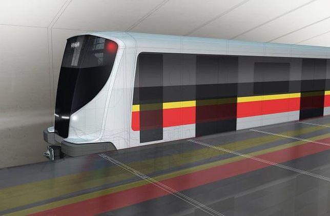Tak będą wyglądały wagoniki na kolejnym odcinku II linii metra?