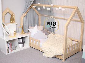 Łóżko domek – idealny mebel do pokoju dziewczynki