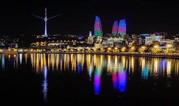 Stolica i największe miasto Azerbejdżanu - Baku