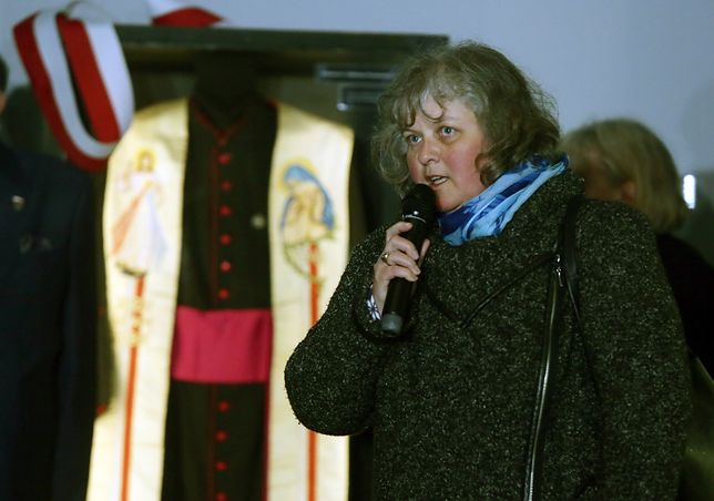 Izabella Sariusz-Skąpska jest prezesem Federacji Rodzin Katyńskich