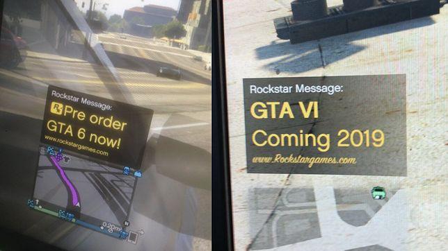 Fake'owy screen z gry GTA 6