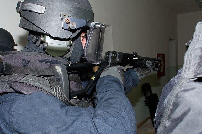 Ekipa SWAT w akcji