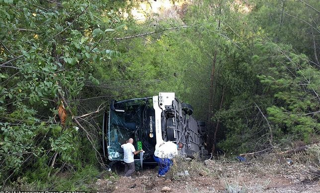 Turcja. Wypadek autokaru z polskimi turystami