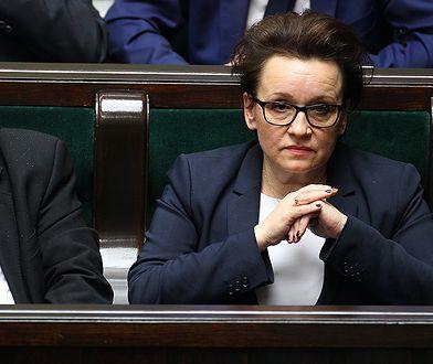 Jarosław Kaczyński Anna Zalewska