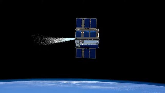 Statek kosmiczny napędzany wodą.