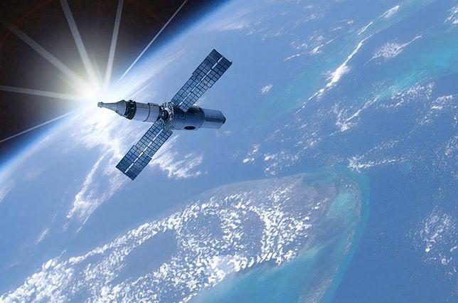 Stacja kosmiczna - wizualizacja