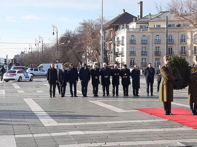 Jesteśmy z premierem Morawieckim z Budapeszcie. Relacja WP